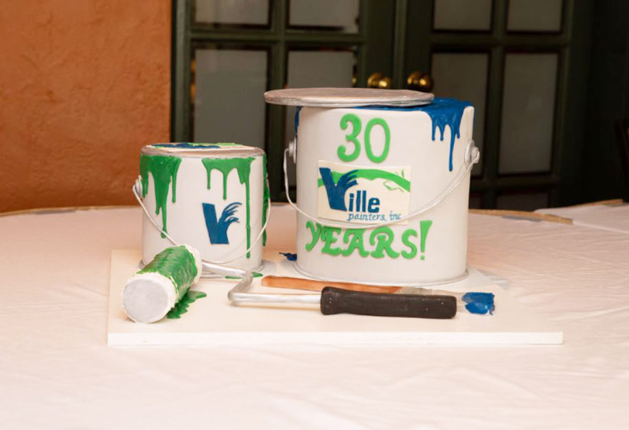 LOCAL PAINTING COMPANY, VILLE PAINTERS, INC. CHEERS TO 30 YEARS